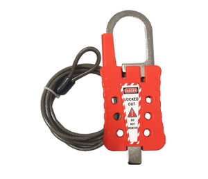 Master Lock Tagout Cable Shackle Lockout Type