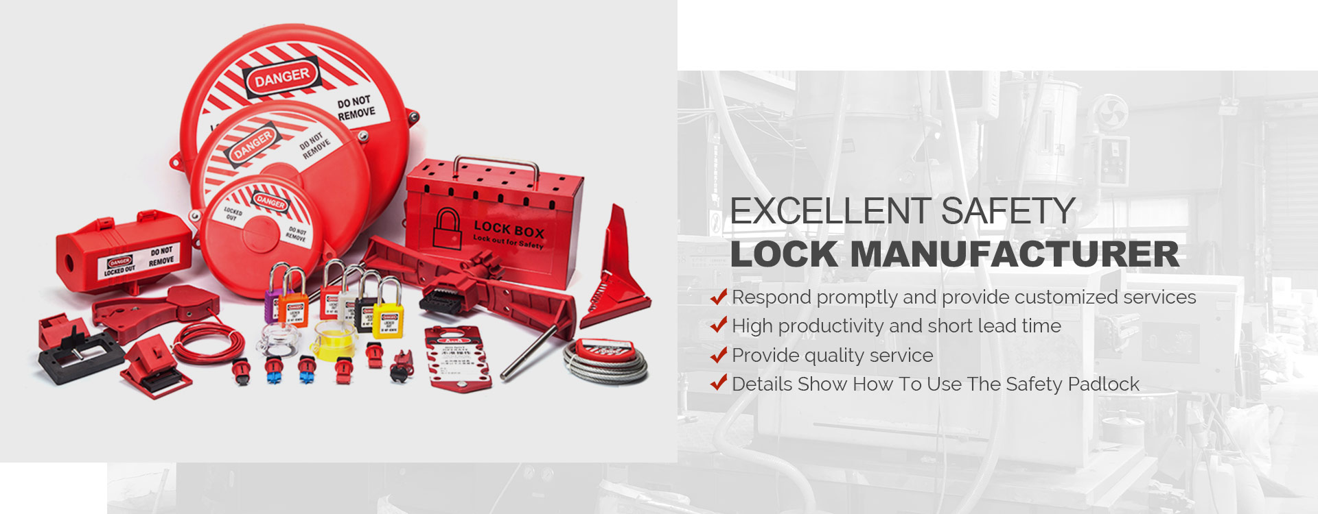 Safety Lockout Manufacturer