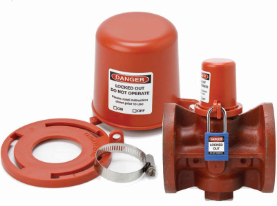 Safety Universal Natural Plug Valve Lockout